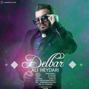 دانلود آهنگ جدید علی حیدری دلبر