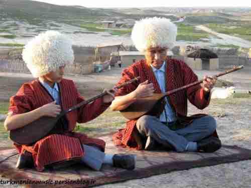 مجموعه آهنگ های غمگین محلی ترکمنی