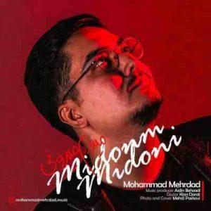 دانلود آهنگ جدید محمد مهرداد میدونم میدونی