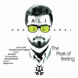 دانلود آهنگ جدید علی حسینمردی قله احساس