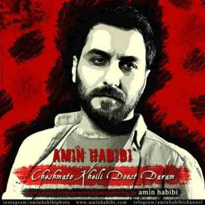 Amin Habibi Cheshmato kheili Doost Daram 300x300 دانلود آهنگ جدیدامین حبیبی چشماتو خیلی دوست دارم