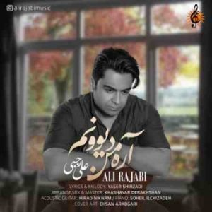 Ali Rajabi Are Man Divoonam 300x300 دانلود آهنگ جدید علی رجبی آره من دیوونم