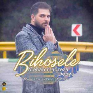 دانلود آهنگ جدید محمدرضا دنیا بی حوصله