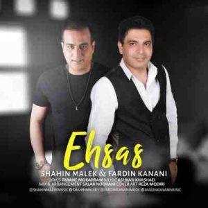 Shahin Malek Fardin Kanani Ehsas 300x300 دانلود آهنگ جدید شاهین ملک و همچنين فردین کنعانی احساس
