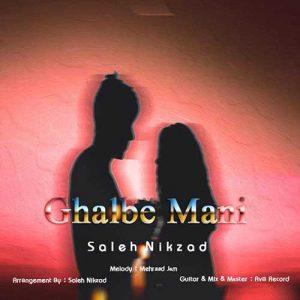 Saleh Nikzad Ghalbe Mani 300x300 دانلود آهنگ جدید صالح نیکزاد قلب منی
