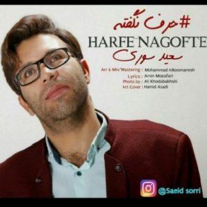 دانلود آهنگ جدید سعید سوری حرف نگفته