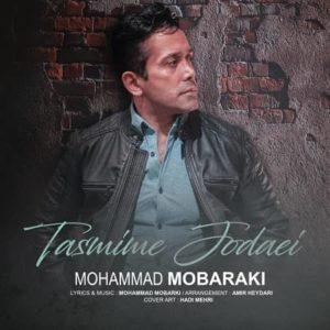 دانلود آهنگ جدید محمد مبارکی تصمیم جدایی