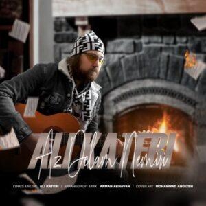 دانلود آهنگ جدید علی کاتبی از دلم نمیری